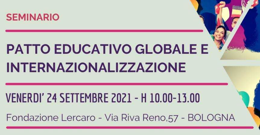 Immagine di anteprima Evento Patto Educativo Globale e Internazionalizzazione
